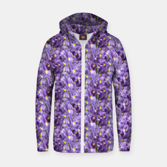 Thumbnail image of Iris Mesh Zip up hoodie, Live Heroes