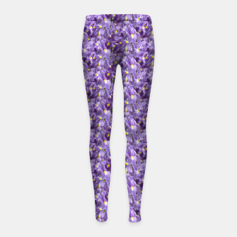 Iris Mesh Girl's leggings thumbnail image
