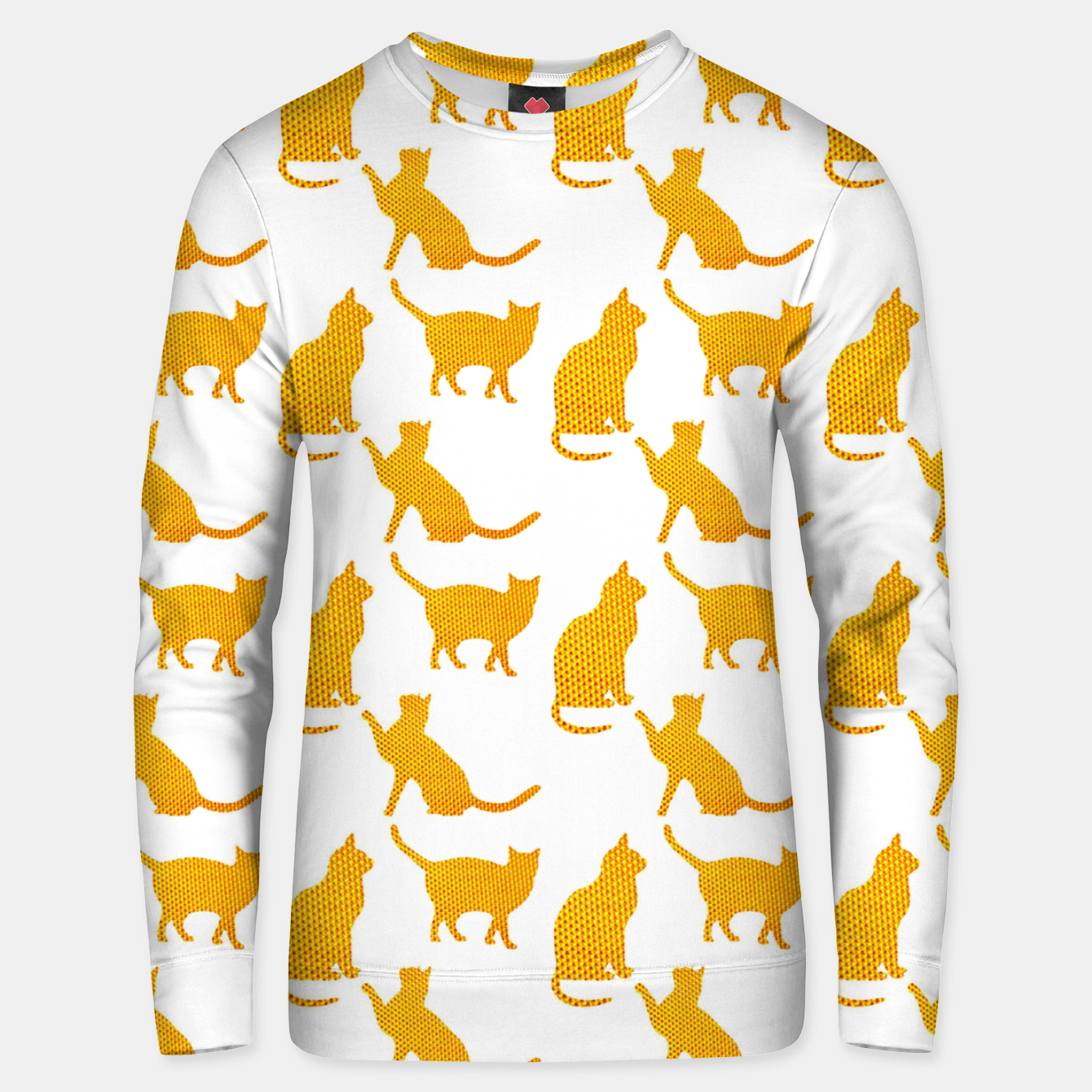 Image of Golden cats-White 1  Sudadera unisex - Live Heroes