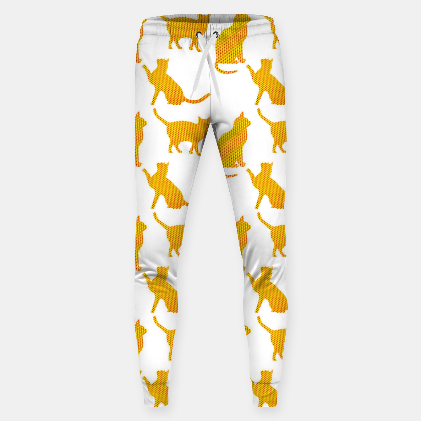 Image of Golden cats-White 1  Pantalones de chándal  - Live Heroes