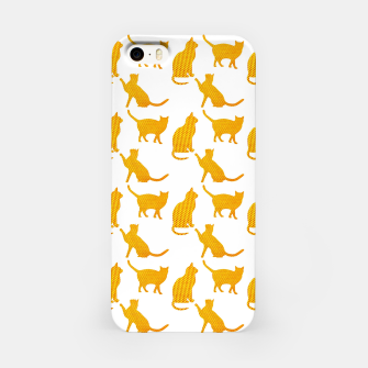Golden cats-White 1  Carcasa por Iphone thumbnail image