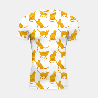 Golden cats-White 1  Shortsleeve rashguard thumbnail image