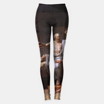 Thumbnail image of The Death of Socrates by Jacques Louis David Leggings, Live Heroes