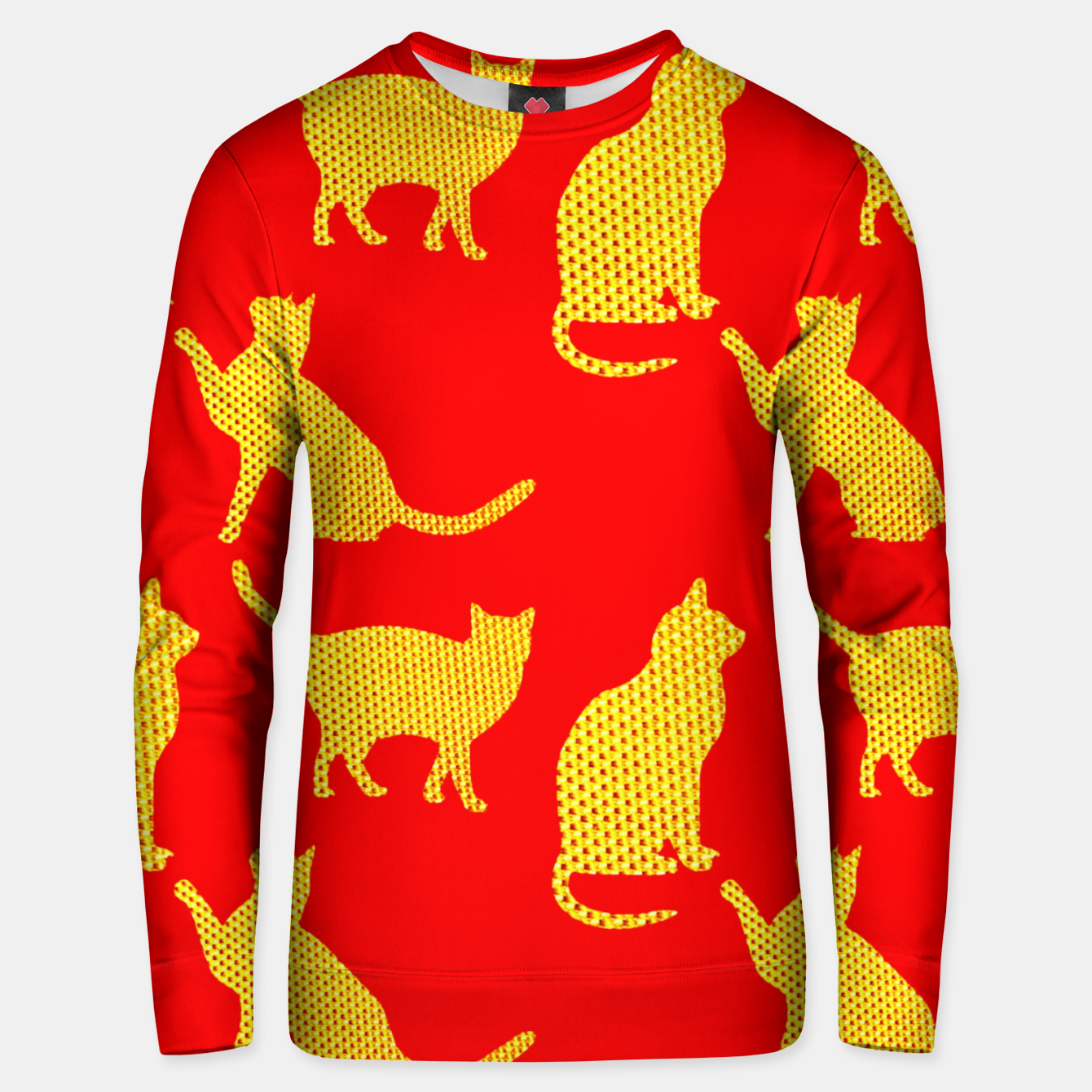 Image of Golden cats-Red Sudadera unisex - Live Heroes