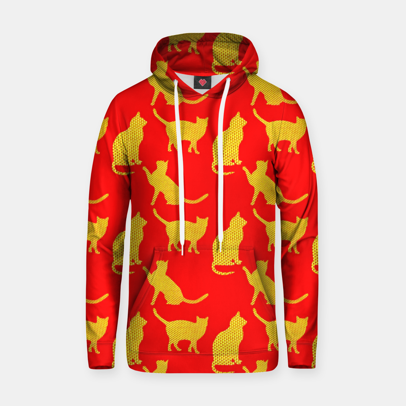 Image of Golden cats-Red 1 Sudadera con capucha - Live Heroes