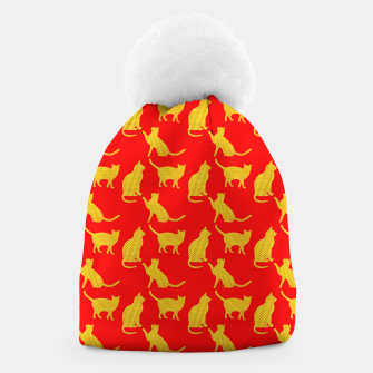 Thumbnail image of Golden cats-Red 1 Gorro, Live Heroes