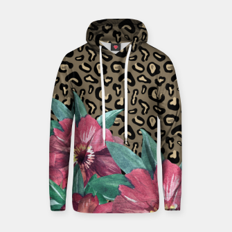 Thumbnail image of Floral Muted Pastels Watercolor Hoodie, Live Heroes