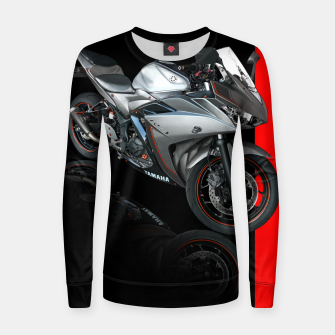 Thumbnail image of Yamaha R3 Women sweater, Live Heroes