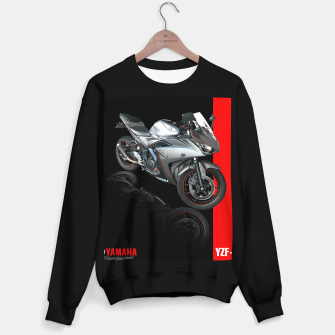 Miniatur Yamaha R3 Sweater regular, Live Heroes