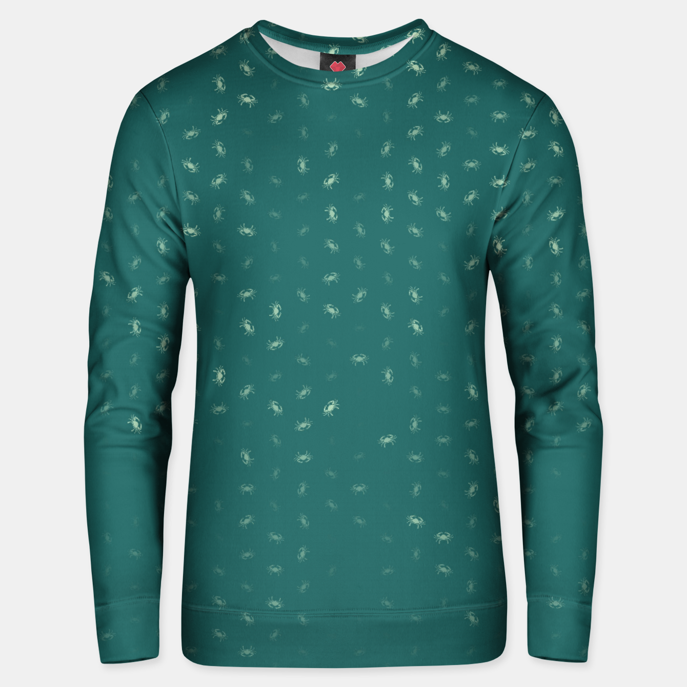 Image of cancer zodiac sign pattern tw Unisex sweater - Live Heroes