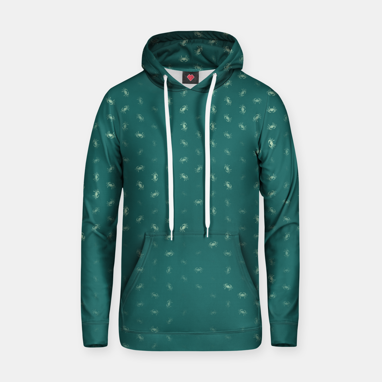 Image of cancer zodiac sign pattern tw Hoodie - Live Heroes