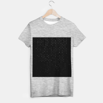 cancer zodiac sign pattern bw T-shirt regular thumbnail image