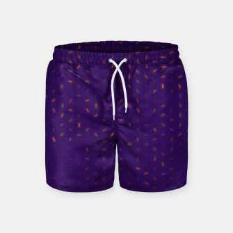 cancer zodiac sign pattern po Swim Shorts thumbnail image