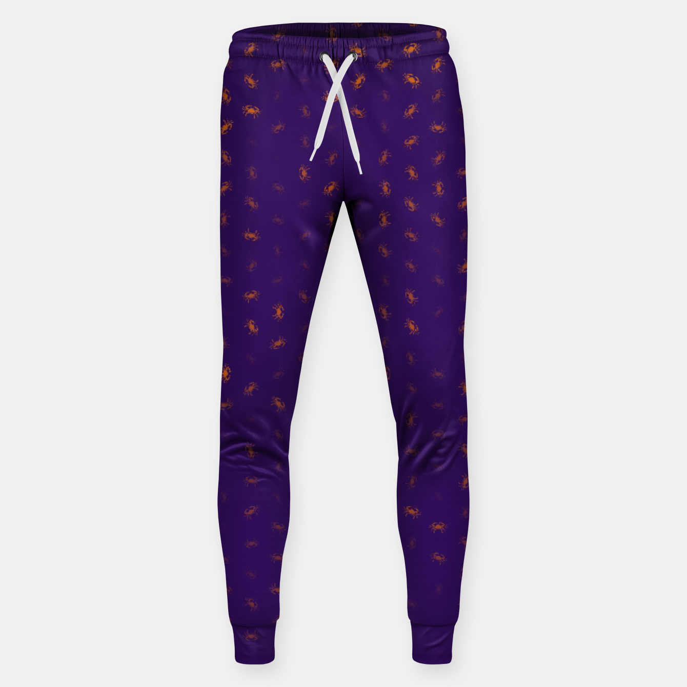 Image of cancer zodiac sign pattern po Sweatpants - Live Heroes