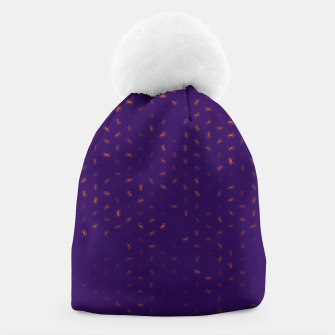 cancer zodiac sign pattern po Beanie thumbnail image