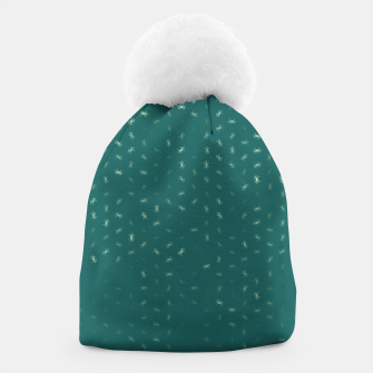cancer zodiac sign pattern tw Beanie thumbnail image