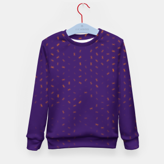 cancer zodiac sign pattern po Kid's sweater thumbnail image