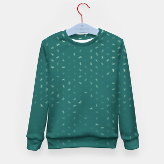 cancer zodiac sign pattern tw Kid's sweater thumbnail image