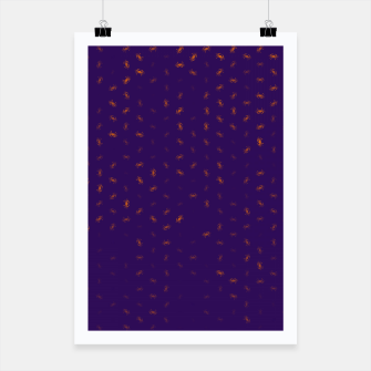 cancer zodiac sign pattern po Poster thumbnail image