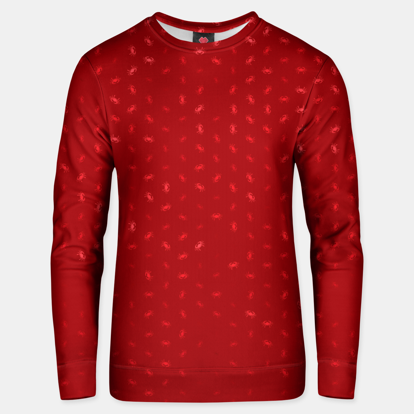 Image of cancer zodiac sign pattern dr Unisex sweater - Live Heroes