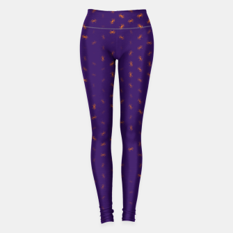 cancer zodiac sign pattern po Leggings thumbnail image