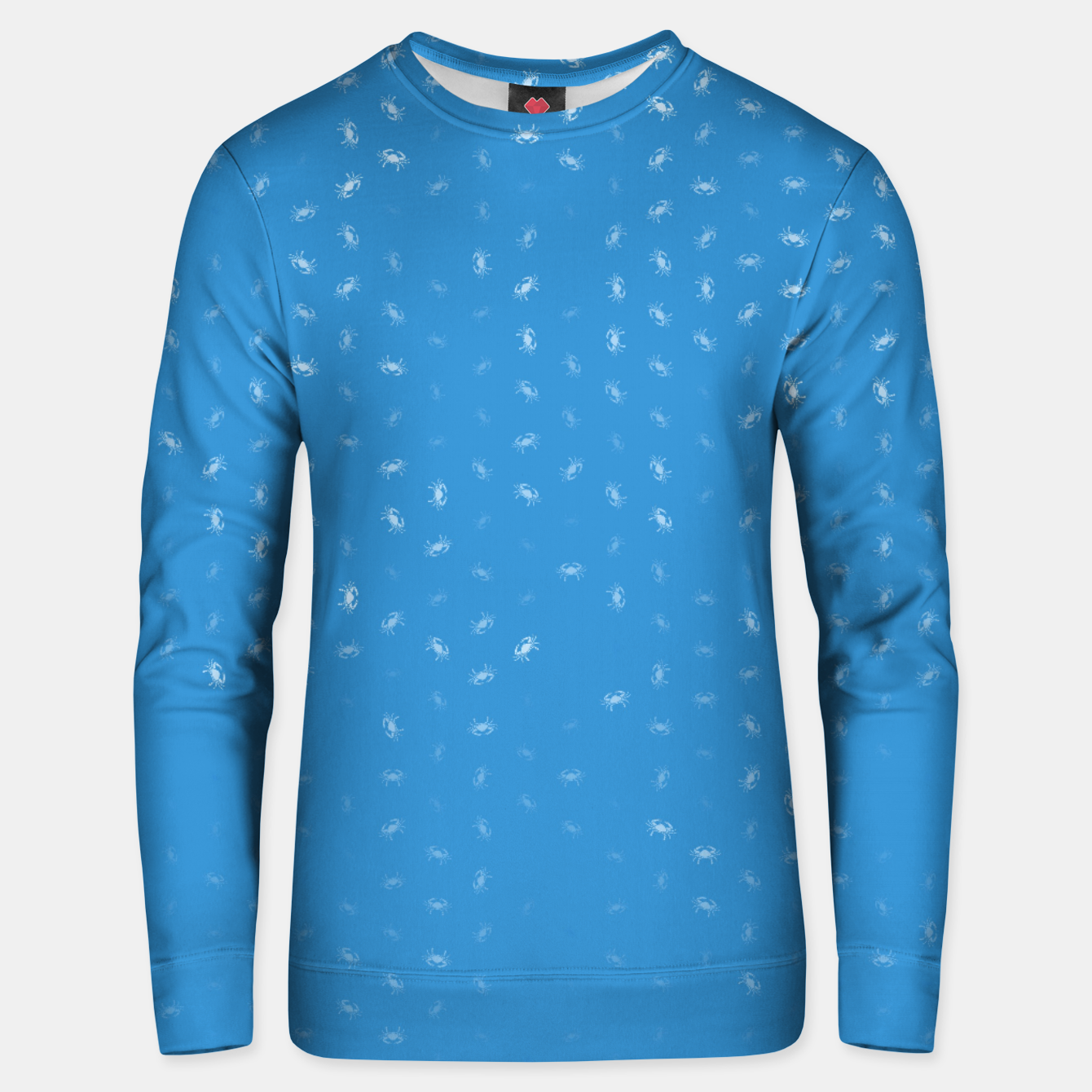 Image of cancer zodiac sign pattern wb Unisex sweater - Live Heroes