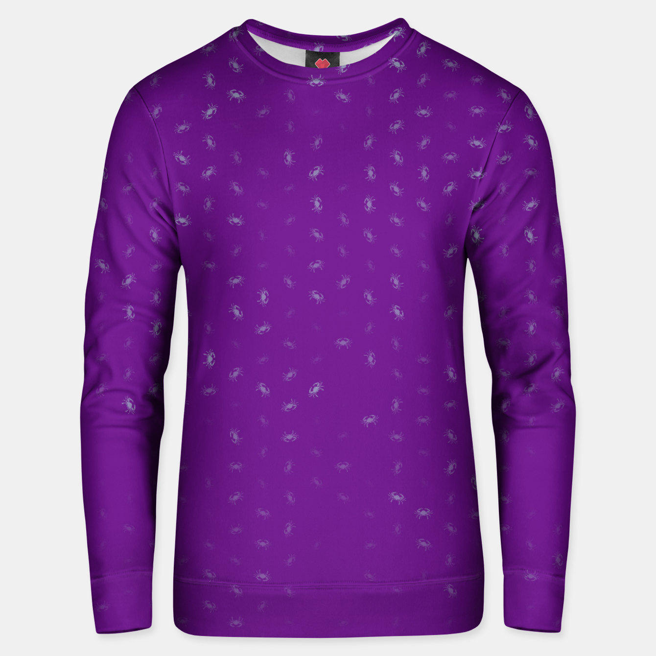 Image of cancer zodiac sign pattern pt Unisex sweater - Live Heroes