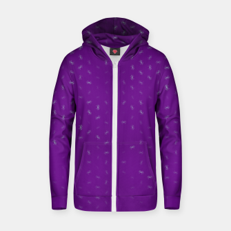 cancer zodiac sign pattern pt Zip up hoodie thumbnail image