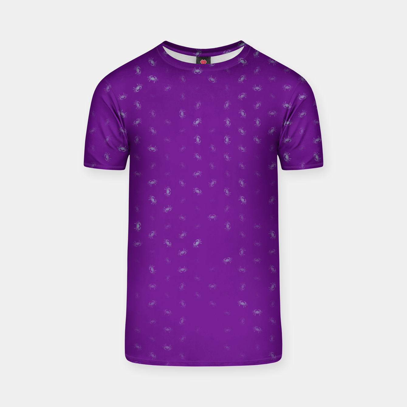 Image of cancer zodiac sign pattern pt T-shirt - Live Heroes
