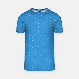 cancer zodiac sign pattern wb T-shirt thumbnail image
