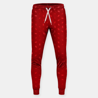 cancer zodiac sign pattern dr Sweatpants thumbnail image