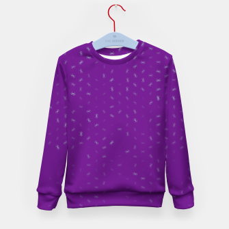 cancer zodiac sign pattern pt Kid's sweater thumbnail image