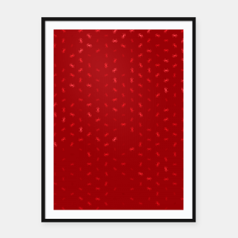 cancer zodiac sign pattern dr Framed poster thumbnail image