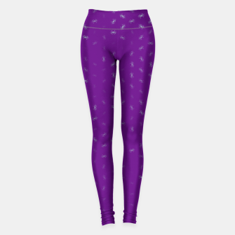 cancer zodiac sign pattern pt Leggings thumbnail image