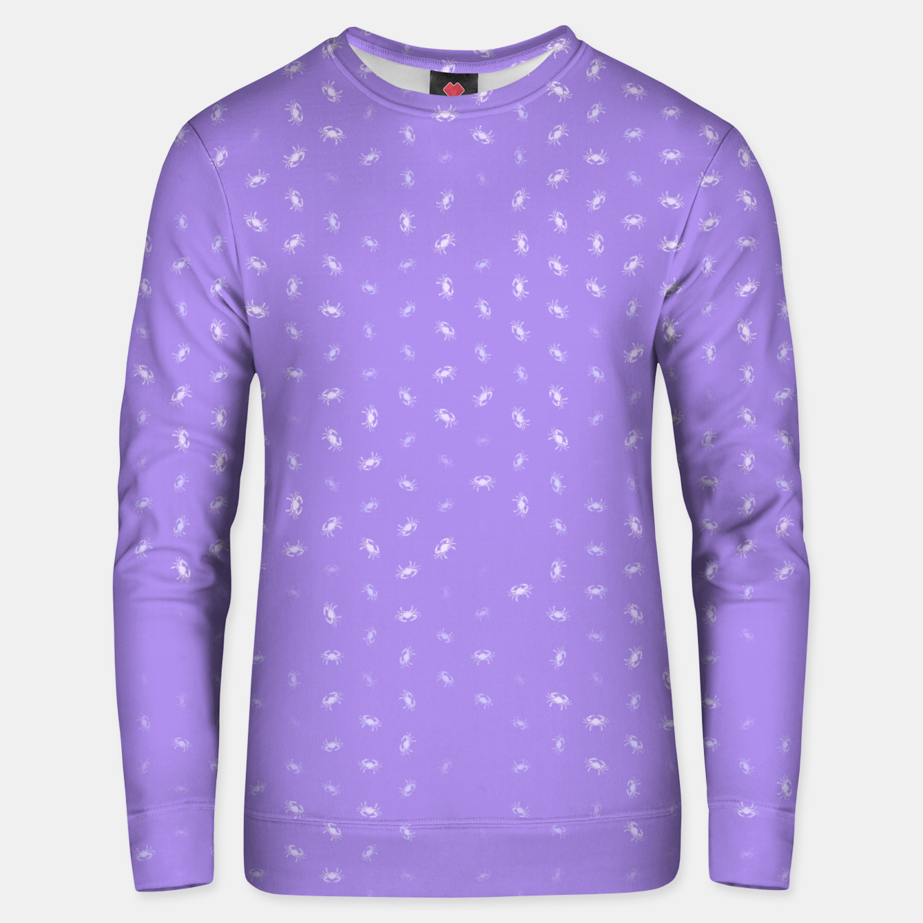 Image of cancer zodiac sign pattern pu Unisex sweater - Live Heroes