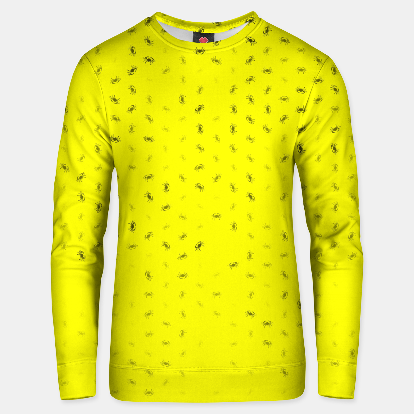 Image of cancer zodiac sign pattern yb Unisex sweater - Live Heroes