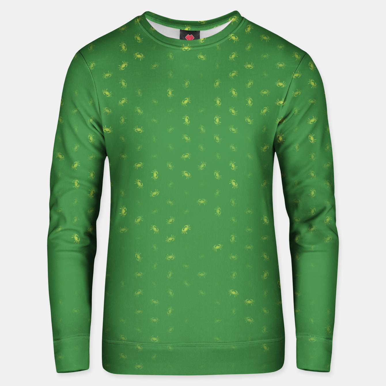 Image of cancer zodiac sign pattern gr Unisex sweater - Live Heroes