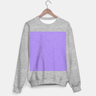 cancer zodiac sign pattern pu Sweater regular thumbnail image