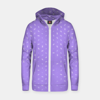 cancer zodiac sign pattern pu Zip up hoodie thumbnail image