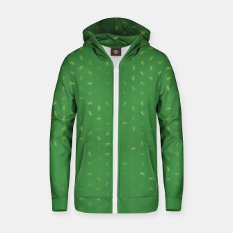 cancer zodiac sign pattern gr Zip up hoodie thumbnail image