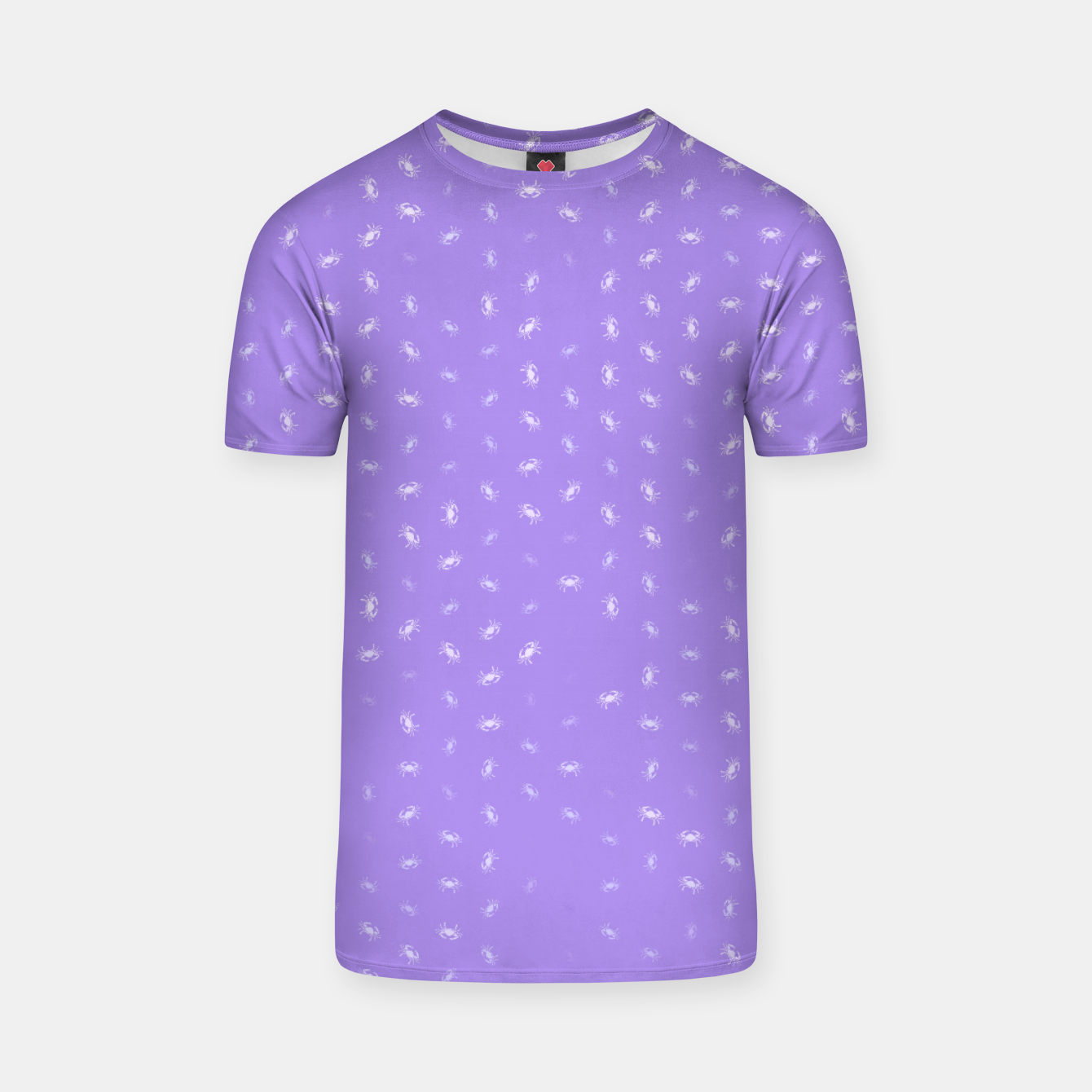 Image of cancer zodiac sign pattern pu T-shirt - Live Heroes