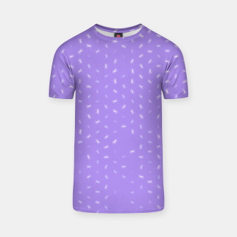 cancer zodiac sign pattern pu T-shirt thumbnail image