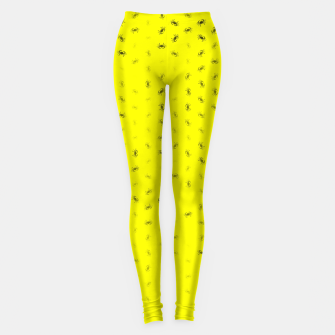 cancer zodiac sign pattern yb Leggings thumbnail image