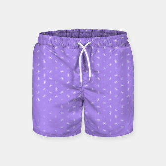 cancer zodiac sign pattern pu Swim Shorts thumbnail image