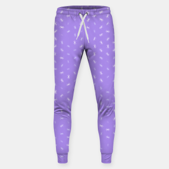 cancer zodiac sign pattern pu Sweatpants thumbnail image