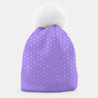 cancer zodiac sign pattern pu Beanie thumbnail image