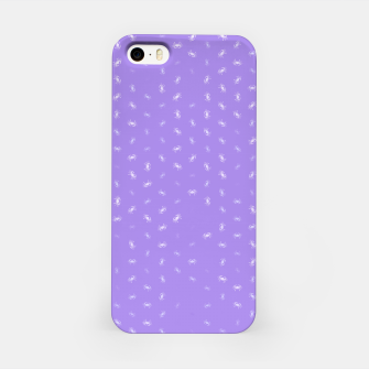cancer zodiac sign pattern pu iPhone Case thumbnail image