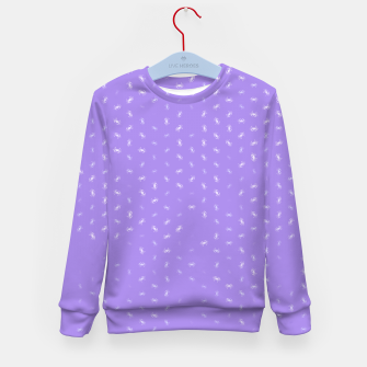 cancer zodiac sign pattern pu Kid's sweater thumbnail image