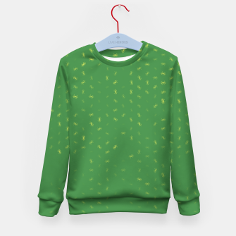 cancer zodiac sign pattern gr Kid's sweater thumbnail image