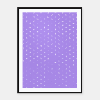 cancer zodiac sign pattern pu Framed poster thumbnail image